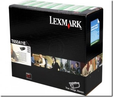 lexmark toner